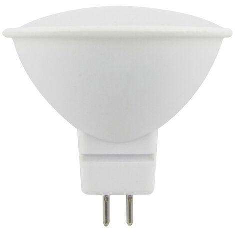 Lámpara Led MR16 Eco GU5,3 6W 4000°K 510Lm 48x50mm. (F-Bright Eco 2602974)