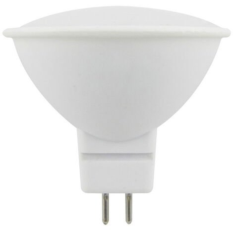 Lámpara Led MR16 Eco GU5,3 6W 6500°K 520Lm 48x50mm. (F-Bright Eco 2602973)
