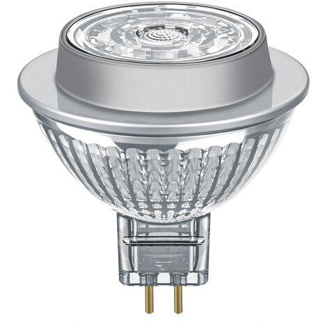Lámpara Led MR16 GU5,3 7,2W 2700°K 36° 53x51mm. (Osram 4058075815575)