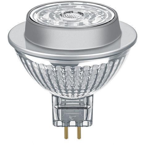 Lámpara Led MR16 regulable GU5,3 7,8W 2700°K 620Lm 36° 53x51mm. Osram (389991) (Blíster)