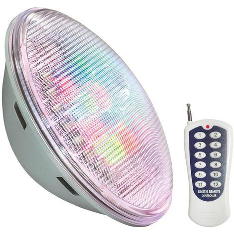 Lámpara LED PAR56 RGB para piscinas, G53, 45W, Int., RGB