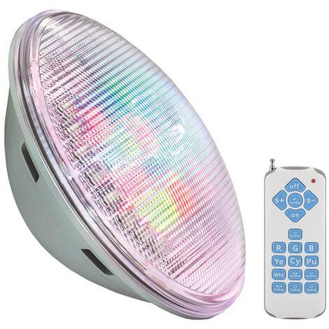 Lámpara LED PAR56 RGB para piscinas, G53, 45W, Int., RGB - RGB
