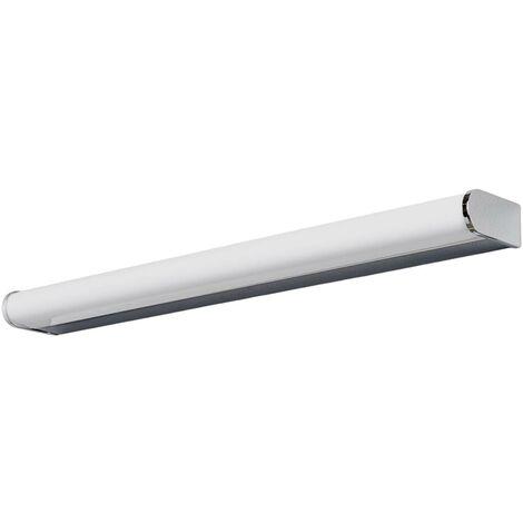 Lámpara LED para espejo Philippa semicircular 58cm