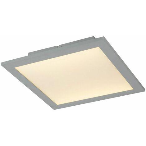 Lámpara LED para foco de techo con panel de superficie, iluminación para sala de trabajo ALU, lámpara de ópalo blanco Globo 41630D1AD