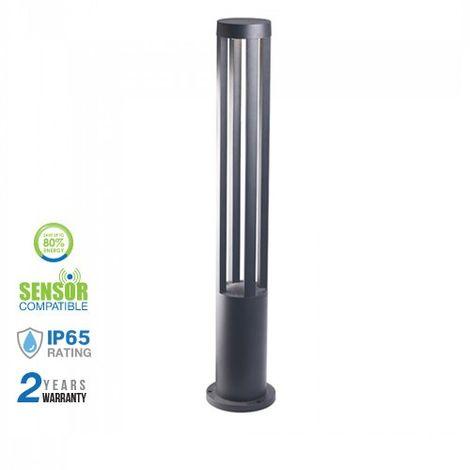 Lámpara LED para jardín Serie Modern Long 10W 72° IP65 Negro Temperatura de color - 3000K Blanco cálido