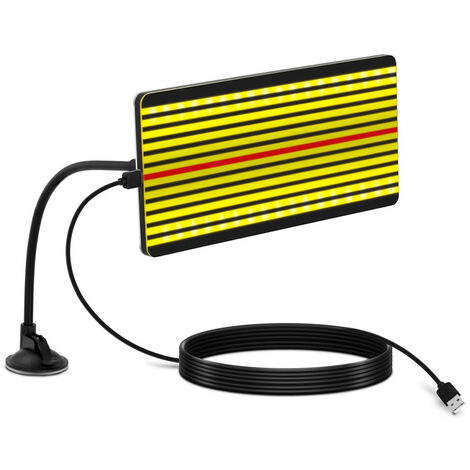 Lámpara LED Para Reparación De Abolladuras Reflector Con Brazo Flexible 32x15 cm
