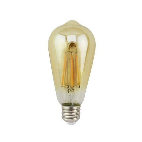 Lámpara Led pera decorativa caramelo E27 7W 64x140mm. (GSC 2004851)