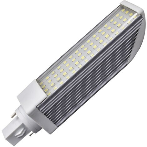 Lámpara Led PL 2 pins G24 11W 6000°K 1000Lm 120° 35x160mm. (GSC 2002306)