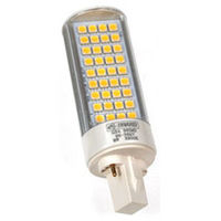 LAMPARA LED PLC-G24 8W