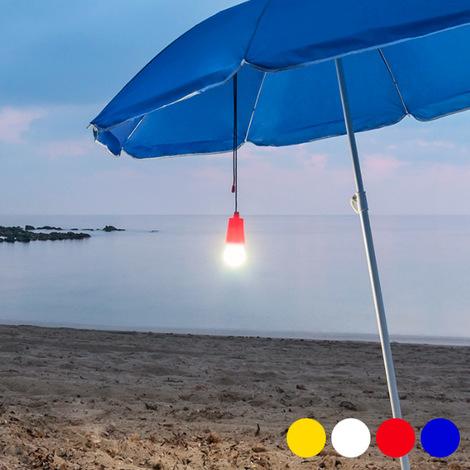 Lámpara LED Portátil Ajustable con Cuerda 144990   Blanco
