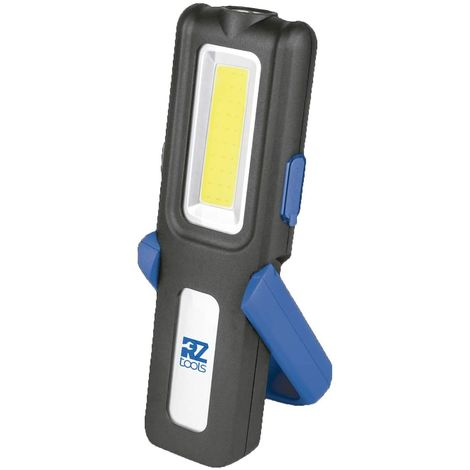 Lámpara LED Recargable Batería 350 Lúmenes con Base Articulada, Imanes, Gancho y PowerBank - Taller Mecánico Coches
