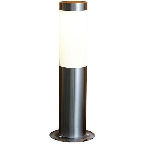 Lámpara LED Solar Biard Allende tipo Poste Exterior de Acero Inoxidable IP44