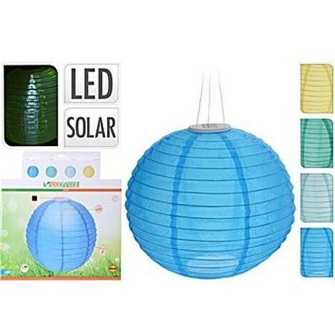 LAMPARA LED SOLAR ESFERICA 40CM. DX9200470