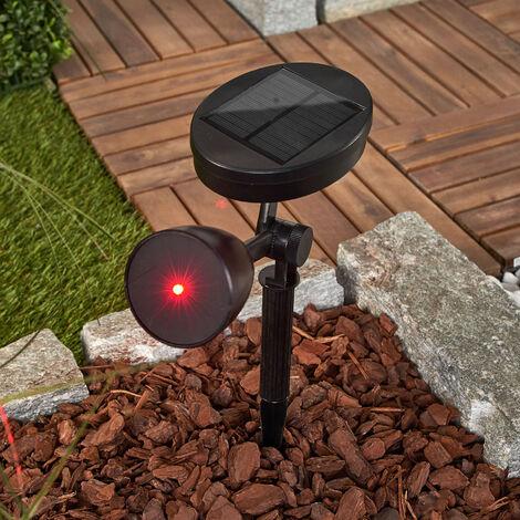 Lámpara LED solar Kari, luz decorativa efectiva