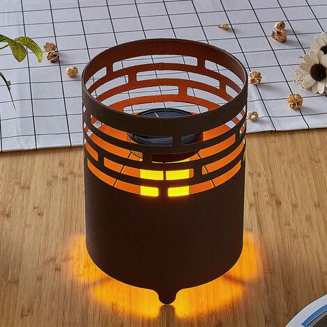 Lámpara LED solar Silena con luz parpadeante