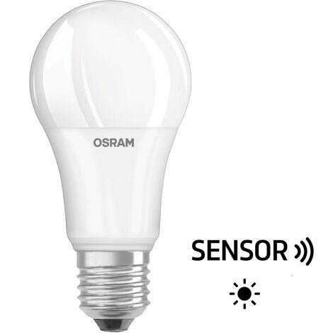 Lámpara Led standard con sensor de luz 9W 806Lm 2700°K (Osram 4058075303485)