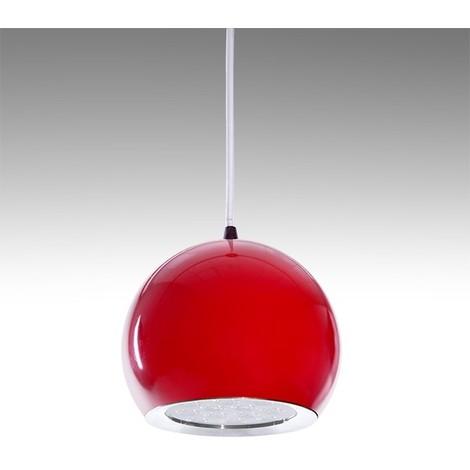 LED Suspendida 000H 12W Rojo Lámpara 1100Lm 30 Ana Bola 6IfyYbvmg7