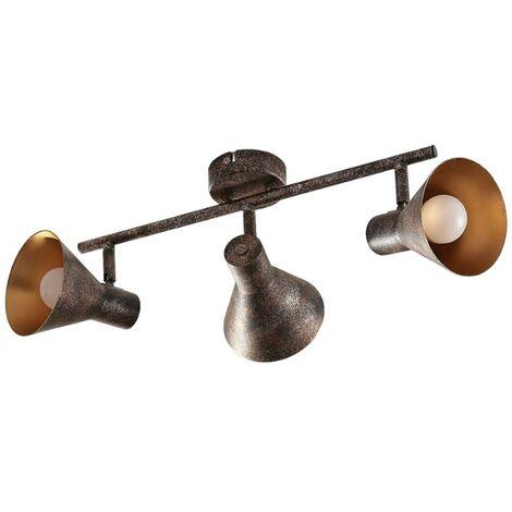 Lámpara LED techo Zera alargada, bombillas Easydim