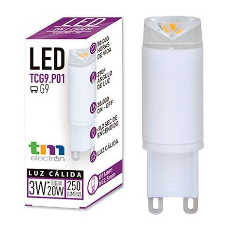 LAMPARA LED TGG9 P01 220V 3W 3.000K