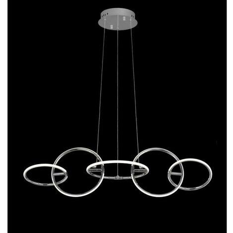 Lámpara lineal AROS LED DIMABLE control Remoto de Mantra