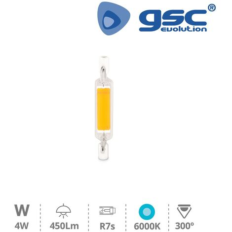 Lámpara lineal LED COB 78mm R7s 4W 6000K