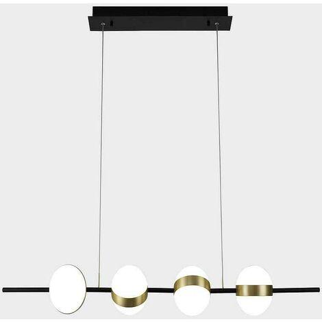 Lámpara lineal para comedor CUBA LED de Mantra