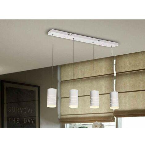 Lámpara lineal VIKA de 4 luces, promoción Schuller