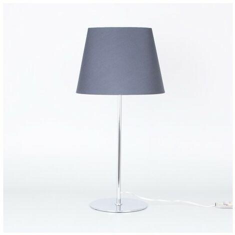 Lámpara negra de mesa