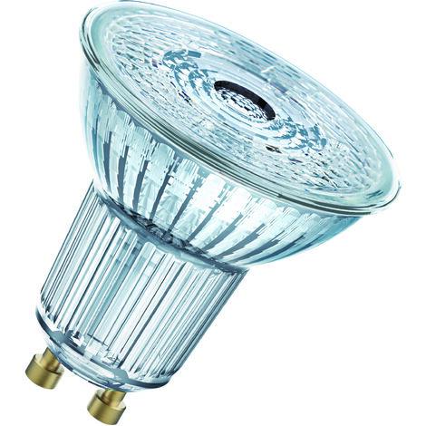 Lámpara PAR16 Led GU10 4,6W 2700°K 36° 55X51mm. (Osram 4052899390171) (Blíster)
