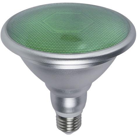 Lámpara PAR38 Led SMD E27 18W 700Lm 120° verde (GSC 2003534)