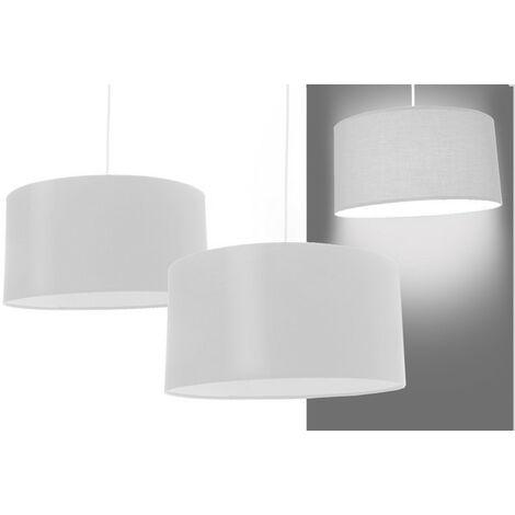 Lámpara para techo redonda blanca Grande