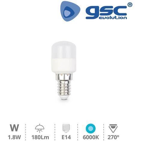 Lámpara pebetera 1.8W E14 6000K