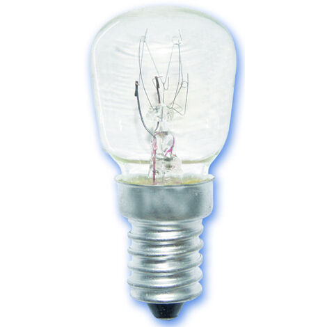 Lámpara pebetera para frigorífico E14 25W 160Lm 26x57mm. (GSC 2000449)