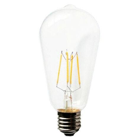 Lámpara pera cristal Led E27 4W 2800°K 400Lm (F-BRIGHT 2601910)