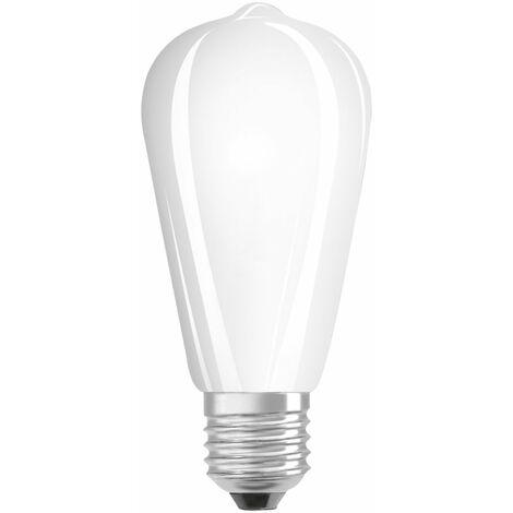 Lámpara pera cristal Led mate Retrofit E27 4W 2700°K 470Lm (Osram 4058075434387)