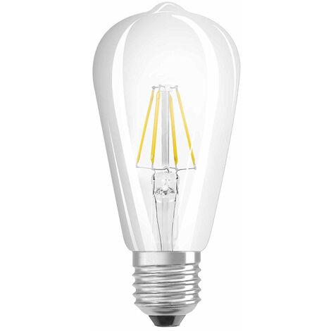 Lámpara pera filamento Led E27 7W 2700°K 145x64mm. (Osram 4052899972353) (Blíster)