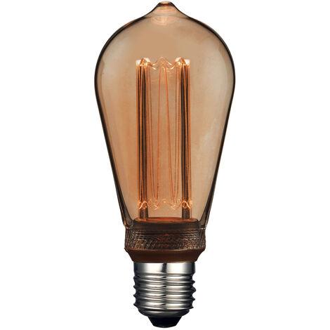 Lámpara pera filamento Led efecto incandescente 4W 1800°K (F-Bright 2601214)