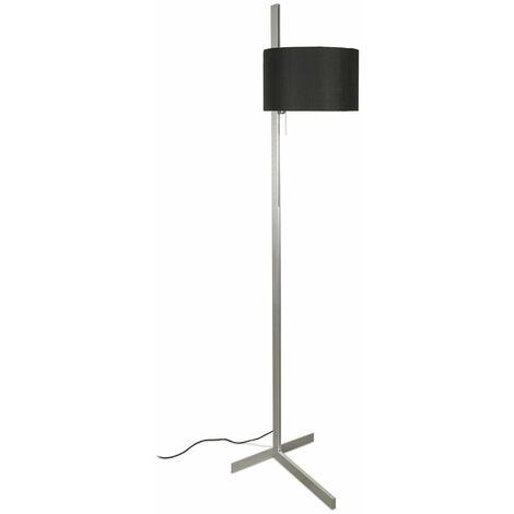 Lampara pie de salon Faro Barcelona STAND UP 57212 Aluminio/Negro