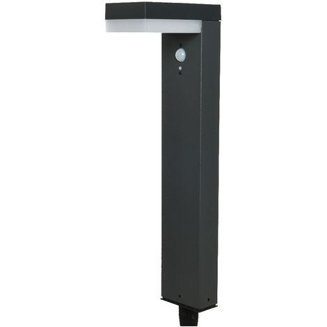 LAMPARA PIE SOLAR CON DETECTOR MAX 600 LUMEN 16,5X10X50CM - NEOFERR..