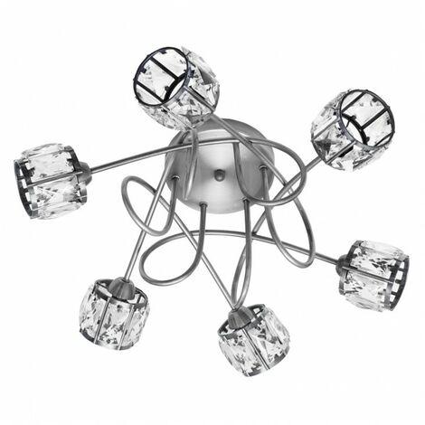 Lámpara Plafon Esencia Cromo 6xg9 de FABRILAMP.