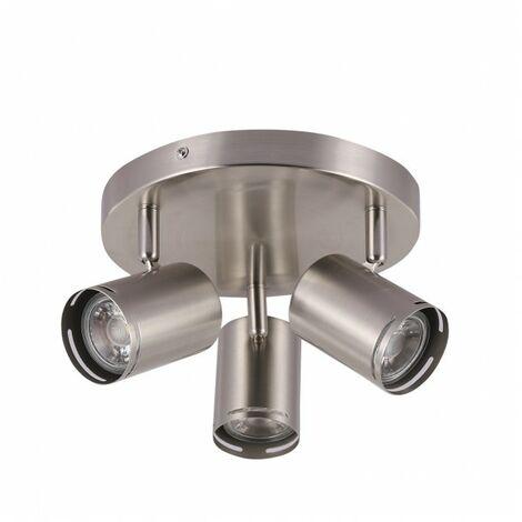 Lámpara Plafon Patagonia 3xgu10 Niquel bombillas No Incluidas de FABRILAMP.