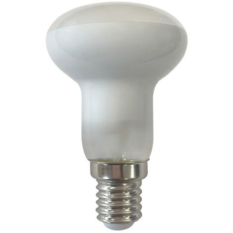 Lámpara reflectora cristal Led R63 E27 6W 3000°K 430Lm 63x100mm. (F-Bright 2601998)