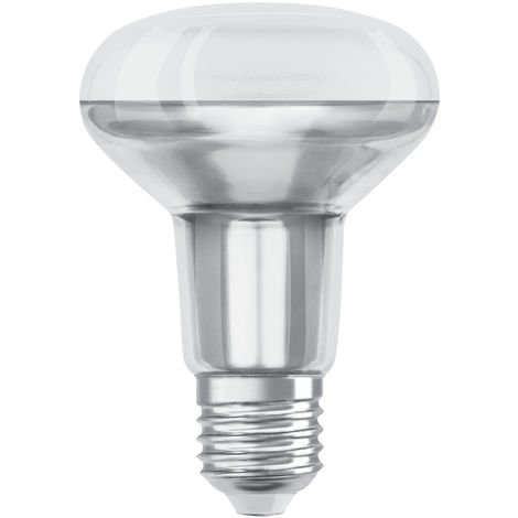 Lámpara reflectora Led R80 E27 9,1W 2700°K 670Lm 36° 80x115mm. (Osram 4058075097209)