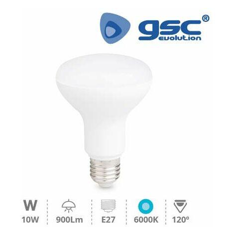 Lámpara Reflectora R80 LED 10W E27 6000K