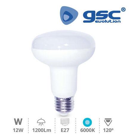 Lámpara Reflectora R90 LED 12W E27 6000K