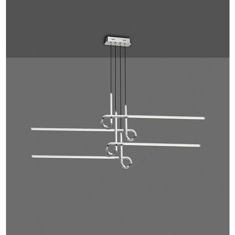 Lámpara regulable en altura CINTO LED 42w cuero satinado