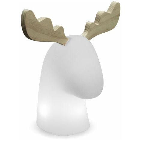 Lámpara Renne exterior/interior MOOVERE H44cm Solar+Batería recargable mando LED/RGB