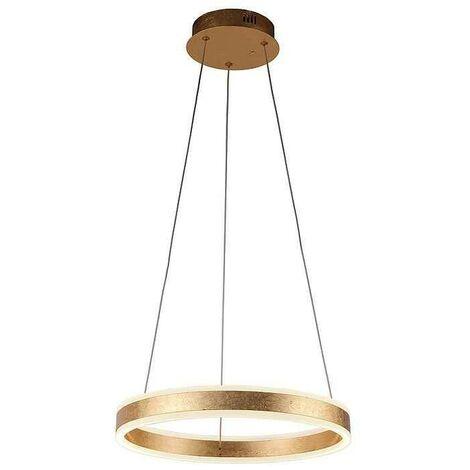 Lámpara Schuller, HELIA 50 cm. Acabado pan de oro
