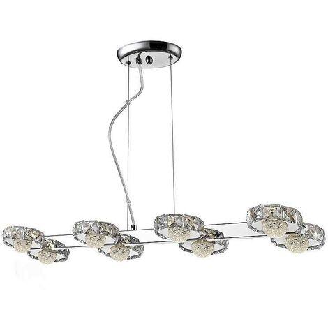 Lámpara Schuller para comedor modelo SURIA LED 8 luces