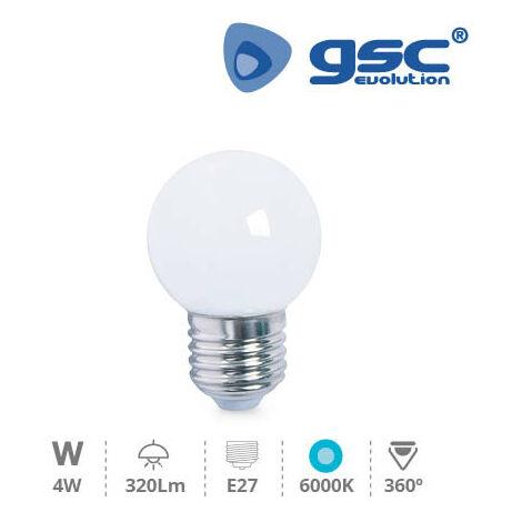 Lámpara Serie Cristal Esférica LED 5W E27 6000K